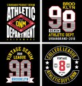 Vector patch varsity collection 05