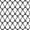 Vector pattern. abstract symmetry drop of water stylish monochrome. Diagonal Stripe and Circle Pattern Royalty Free Stock Photo