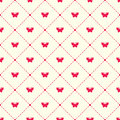 Vector pattern with argyle and moths