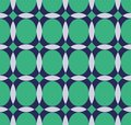 Vector pattern with ellipse and hemisphere the Stock Images