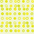 Vector pattern with lime coloured dots Royalty Free Stock Image