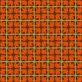 Vector pattern of stylist templar cross