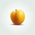 Vector peach illustration of Stock Photography