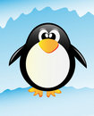 Vector penguin Royalty Free Stock Image