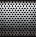 Vector perforated metallic seamless pattern this is file of eps format Stock Image