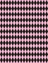 Vector Pink Black Harlequin Background Stock Images