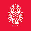 Vector poster of Russian culture. Isolated images of objects of national identity.