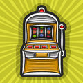 Vector poster for Slot Machine theme