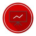 Vector presentation board icon