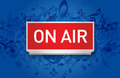 Vector Radio On Air Royalty Free Stock Photo