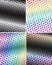 Vector rainbow background Stock Photography