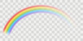 Vector rainbow Royalty Free Stock Photo
