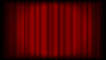 Vector red curtain background from theatre or ceremony with ligh