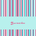 Vector retro striped background Royalty Free Stock Image