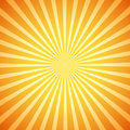 Vector retro sunburst Royalty Free Stock Photo