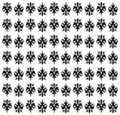 Vector royal pattern Stock Photography