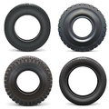 Vector Rubber Tires
