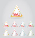 Vector sale sticker.. Royalty Free Stock Photos