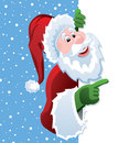 Vector santa Royalty Free Stock Photography