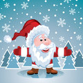 Vector santa claus Royalty Free Stock Photos