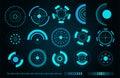 Vector sci fi futuristic user interface