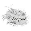 Vector seafood logo