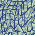 Vector seamless abstract hand drawn pattern Royalty Free Stock Photos