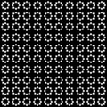 Vector seamless abstract pattern black and white. abstract background wallpaper. vector illustration.