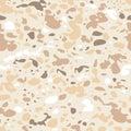 Vector seamless animal pastel beige pattern.
