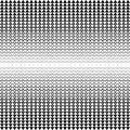 Vector seamless background. Abstract polygon black and white graphic triangle pattern Royalty Free Stock Photo