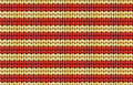 Vector seamless background knitted fabric with white and red st pattern abstract ornamental in form of a stripes Royalty Free Stock Photo