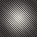 Vector Seamless Black and White Parallel Diagonal Lines Halftone Vignette Pattern