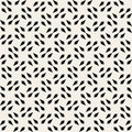 Vector Seamless Black And White Square Arrow Head Shape Geometric Pattern Royalty Free Stock Photo