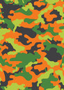 Vector seamless camo print for fabric and military tile Stock Photo