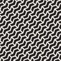 Vector Seamless Chevron ZigZag Diagonal Lines Geometric Pattern
