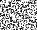 Vector. Seamless Classicism Wallpaper Stock Photos