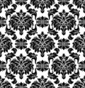 Vector. Seamless damask pattern Stock Photos