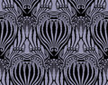 Vector. Seamless damask pattern Stock Photography