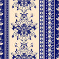Vector seamless damask pattern Royalty Free Stock Photo