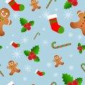 Vector seamless flat pattern with icons a
