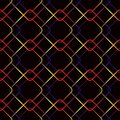 Vector seamless geometric pattern consisting Vector seamless geometric pattern consisting of multi-colored rhombuses.