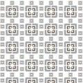 Vector seamless geometric tiles pattern background