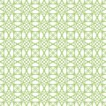 Vector seamless green guilloche background Royalty Free Stock Photo