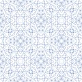 Vector seamless guilloche background illustration of tangier grid abstract Royalty Free Stock Image