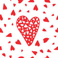 Vector Seamless Heart Pattern