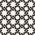 Vector seamless interlacing lines pattern. Modern stylish abstract texture. Repeating geometric tiles