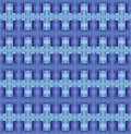 Vector seamless interwoven texture Royalty Free Stock Photo
