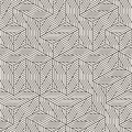 Vector seamless irregular grid pattern. Modern stylish abstract texture. Repeating geometric lattice from randomly