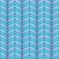 Vector seamless knitting pattern. Stock Images