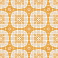 Vector seamless mosaic ornaments Royalty Free Stock Photos